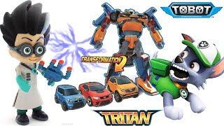 Щенячий Патруль - Тоботы Тритан Трансформеры - Герои в Масках Развивающие Мультики все серии подряд