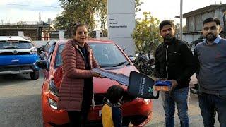 Our new car || हमारी नई गाड़ी || तो यही थी वो खुशखबरी || #tataaltroz