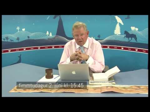 Icelandic TV anchor suffers stroke during start of monologue, June 2nd 2016