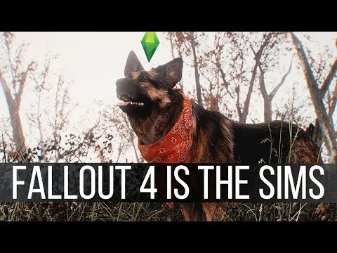 Fallout 4 is Becoming The Sims and it's Horrible