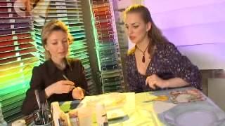 "AZUR-ART мастер-класс ""часы из тарелки"""