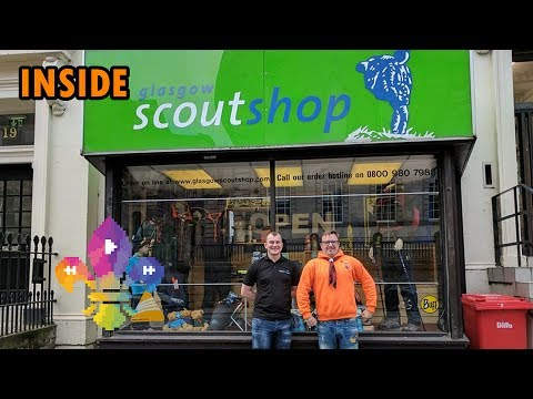 SCOUTADELIC   INSIDE... Glasgow Scout Shop