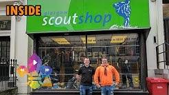 SCOUTADELIC | INSIDE... Glasgow Scout Shop