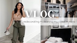 ANOTHER WEEKLY VLOG | REDECORATING MY ROOM + CLEANING OUT MY CLOSET + PO UNBOXING | ALLYIAHSFACE