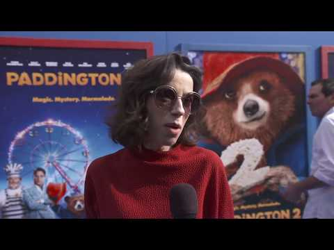 Paddington 2LA PREMIERE RED CARPETSOUNDBITES SALLY HAWKINS