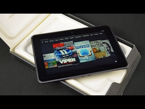 "Amazon Kindle Fire HD 8.9"": Unboxing & Review"