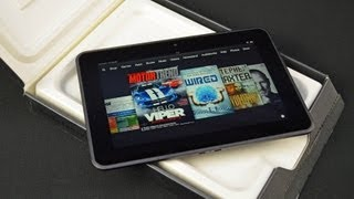 """Amazon Kindle Fire HD 8.9"""": Unboxing & Review"""