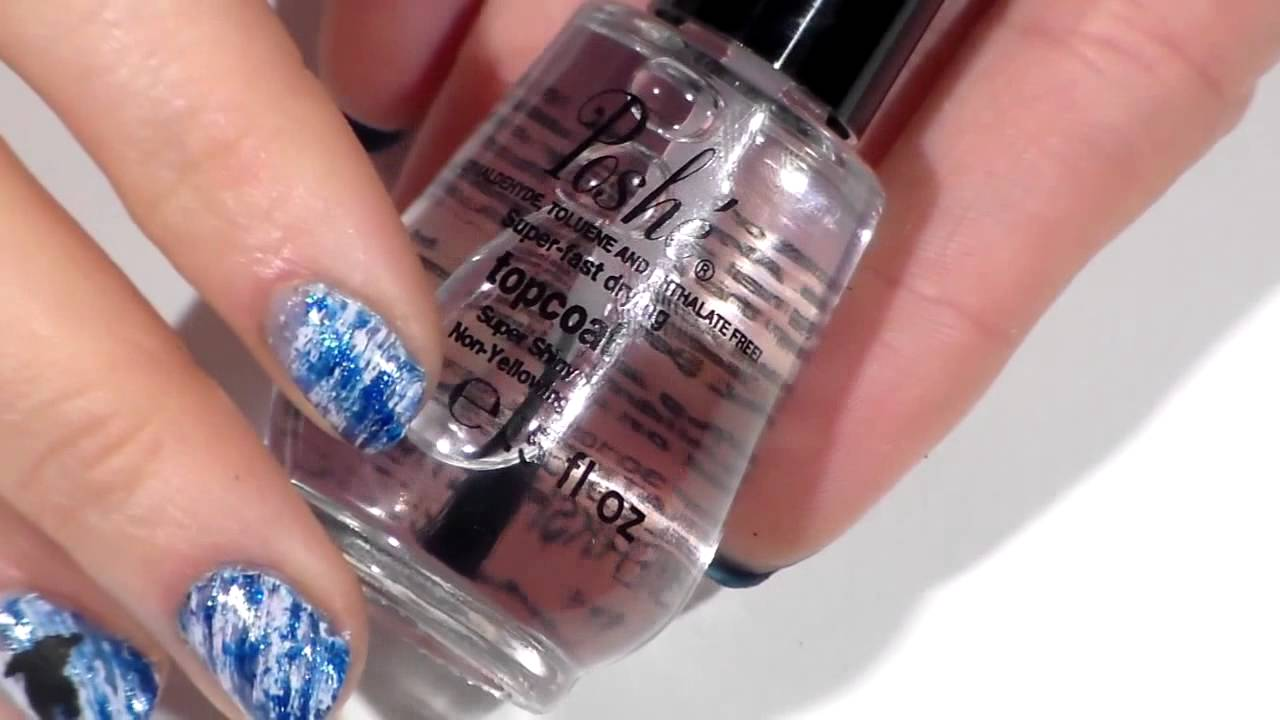 Nail Art Designs, Peace sign dotticure nail art with Trendy Polish ...