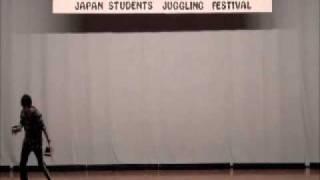 JSJF2011 個人部門 優勝 加藤悠 (早稲田大学高等学院) 道具: シガーボッ...