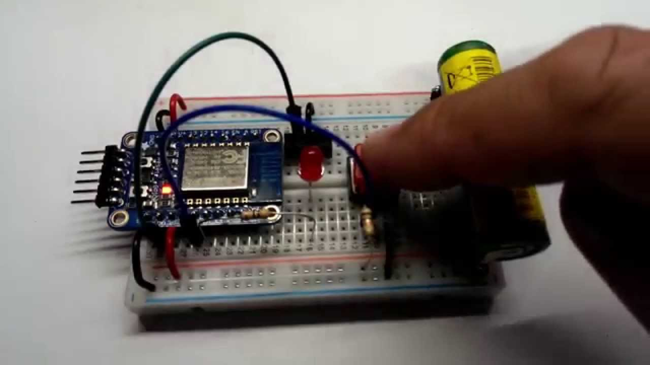 how to connect ifttt to an esp8266