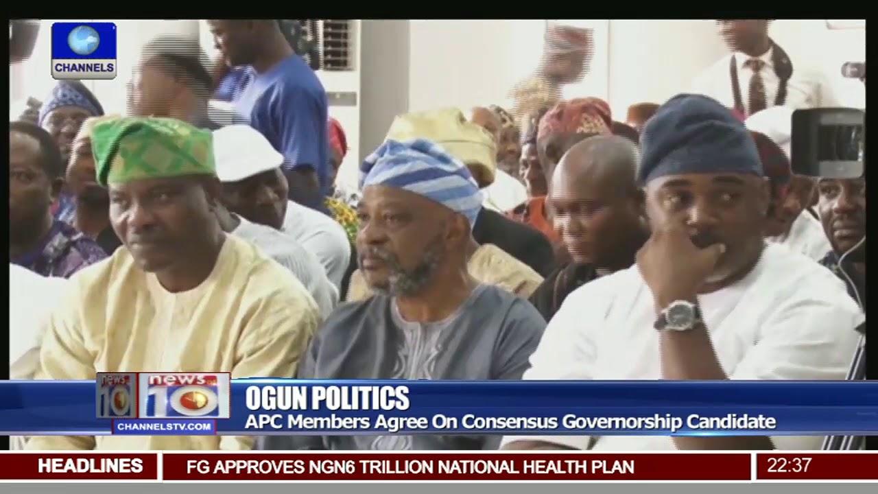 Ogun APC Agree On Consensus Governorship Candidate As Amosun Declares For  Senate