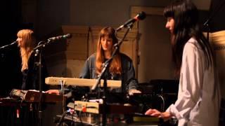 Au Revoir Simone - Gravitron (Live on KEXP)