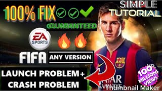 How To Fix FIFA [Launch Problem & Crash Problem] With SIMPLE Tutorial (Link in Description)