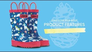 What's so special about the #1 kids rain boot on Amazon?