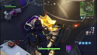 Fortnite Secret Battle Star Location Week 4 Season 4 Hidden Blockbuster Challenge
