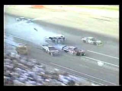 Dale Earnhardt interview about Dega wreck