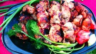 #Шашлык свиной  #Skewers of pork