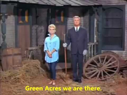 Green Acres Intro~HD with Lyrics(Best version on youtube)