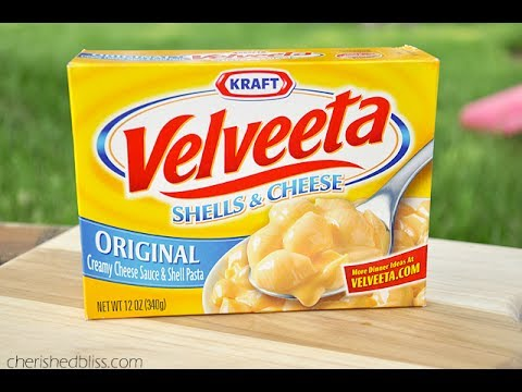 How to make velveeta shells and cheese better
