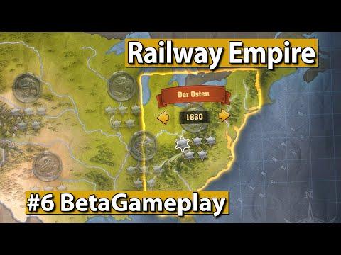 Railway Empire 🚂 Freies Spiel Anno 1830 ► #6 Eisenbahn Aufbau Simulator Gameplay deutsch german