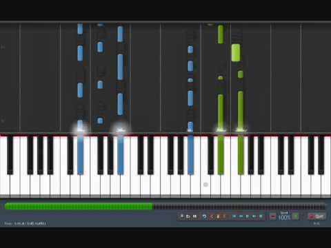 "LITHIUM - Evanescence [piano tutorial by ""genper2009""]"