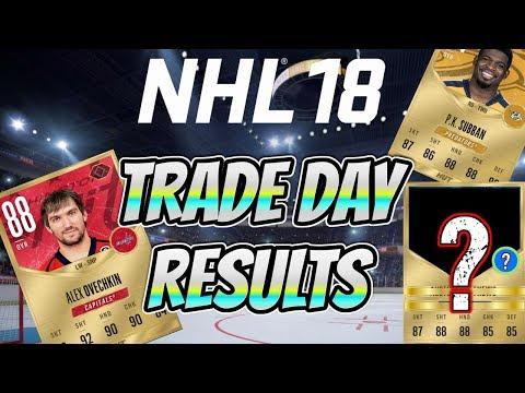 RESULTS! - NHL 18 Trade Day w/ OVI