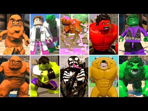 All Big-Fig Character Transformations In LEGO Videogames (w/All DLC)