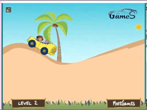 дора игры пляж