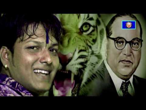भिमगित - Mazya Bhimacha Kalij Waghacha (माझ्या भिमाचं काळीज वाघांचं ) Bhim Geet by Vaibhav Khune