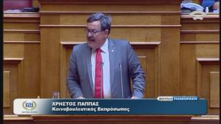 Χ.Παππάς(Κοινοβ.Εκπρόσ.ΧΡΥΣΗ ΑΥΓΗ)(Συζήτηση γιά σύσταση Εξεταστικής Επιτροπής)(26/07/2016)