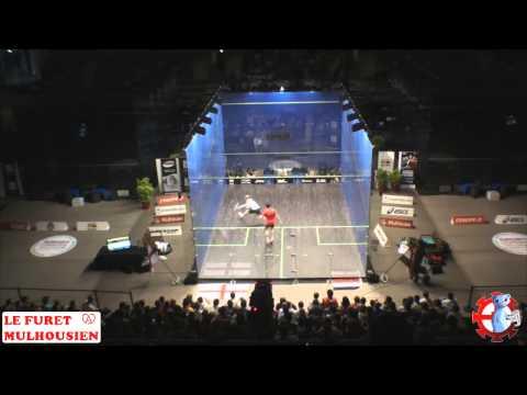 Match de Finale Championnat du Monde Squash Masculin par équipe