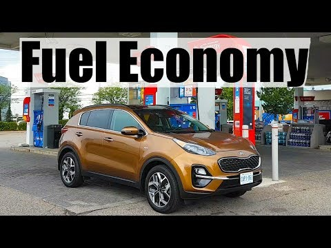 2020 KIA Sportage - Fuel Economy MPG Review + Fill Up Costs