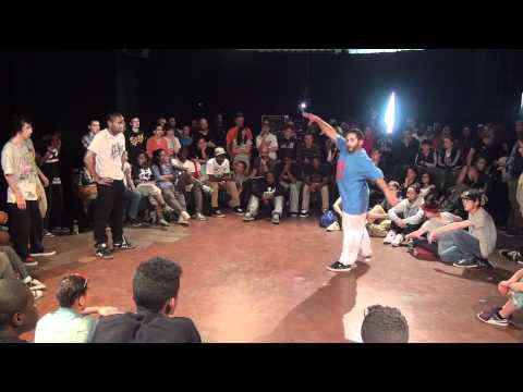 Battle Just a Rookie Dancer 2 8ème  Pop Poppin Bip Bip vs Fahrenheit