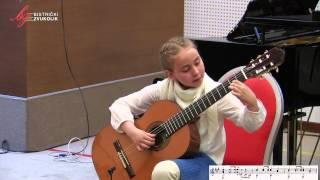 Matteo Carcassi: Koračnica - Nika Kramar, gitara / Bistrički ZVUKOLIK 2014.