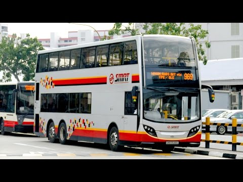 Singapore Buses - November 2015 Fleet Review