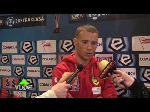 Rafał Grzyb po meczu Cracovia – Jaga (1-1)