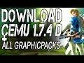 CEMU 1.7.4d Full version+cemuhook+shaderCache(19k)+All GraphicPacks