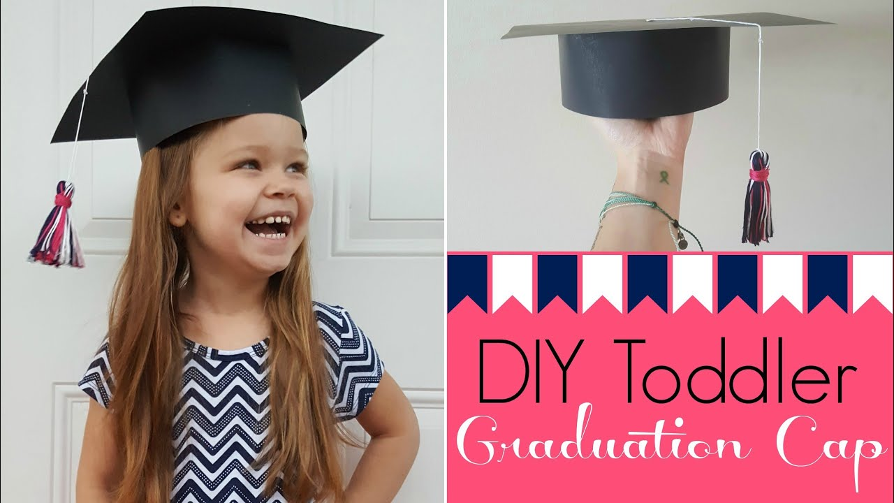DIY Toddler Graduation Cap - YouTube