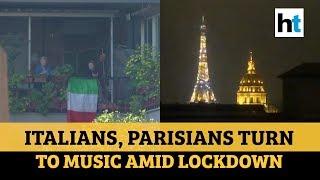 Watch how italians & parisians are ...