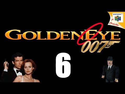Let's Play GoldenEye 007 - Episode 6 - Depot & Train! (00 Ag