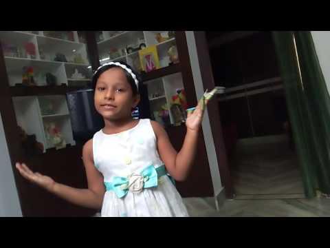 Yuktha DPS / student/ finger puppets/ English Recitation/Delhi public school/Nacharam/Hydersbad