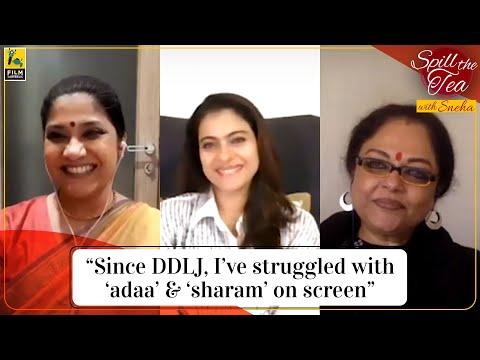 Kajol, Tanvi Azmi, Renuka Shahane   Tribhanga   Spill the Tea with Sneha   Film Companion
