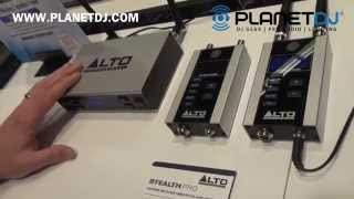 Alto Stealth Wireless Pro Audio Transmitter with True Diversity | NAMM 2015