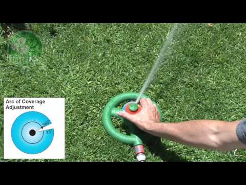 Antelco GS1 Gear Drive Lawn and Garden Sprinkler