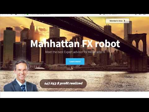 Manhattan FX robot is the market leader algorithm which is trading on EURUSD & GBPUSD