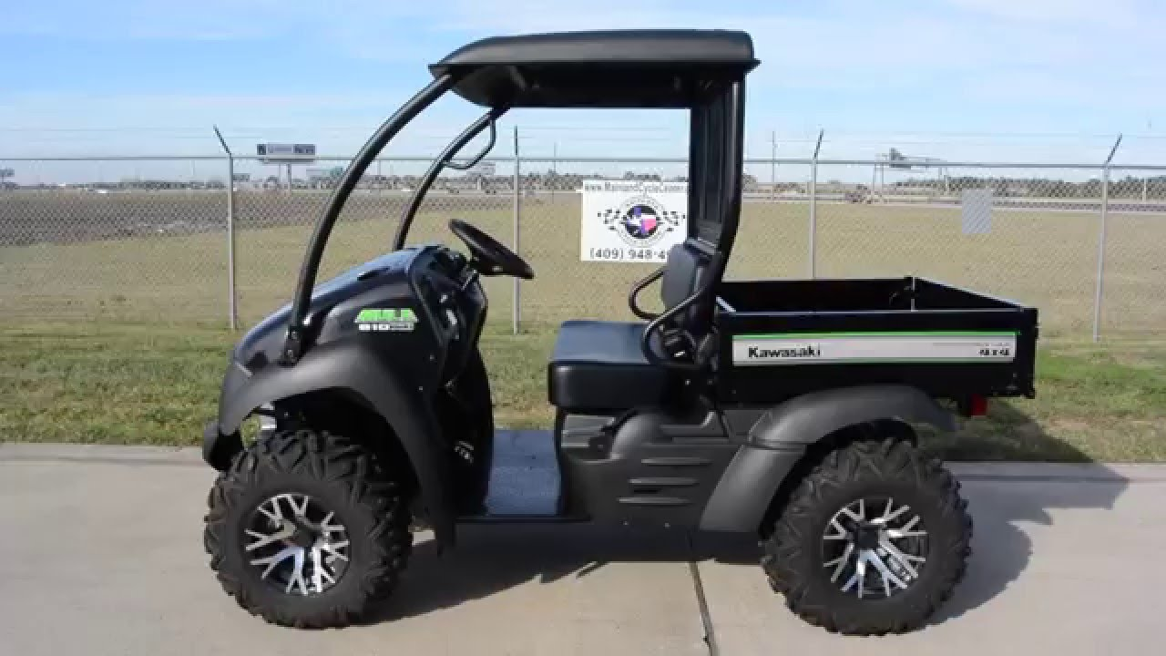 $8,599: 2016 Kawasaki Mule 610 XC Special Edition Overview and Review