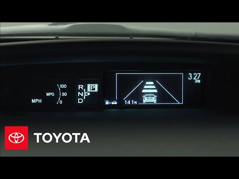2012 Prius How-To: Multi Information Display | Toyota