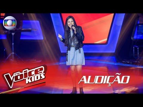 Ystefani canta 'Amanheceu' na Audição – The Voice Kids Brasil | 2ª Temporada