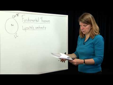 EECS- Module 13 -Fundamental Theorum of Ordinary Differential Equations