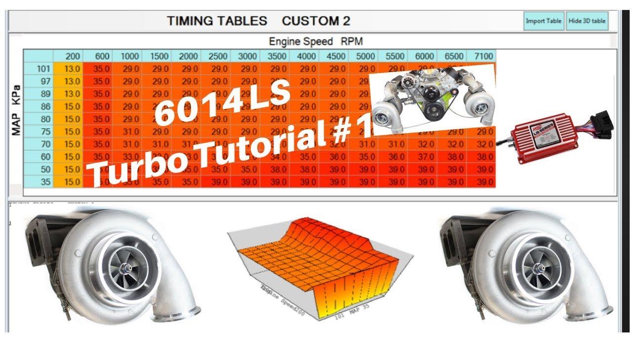 6014 MSD Turbo KPA Tutorial 1